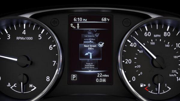 2017 Nissan Rogue navigation