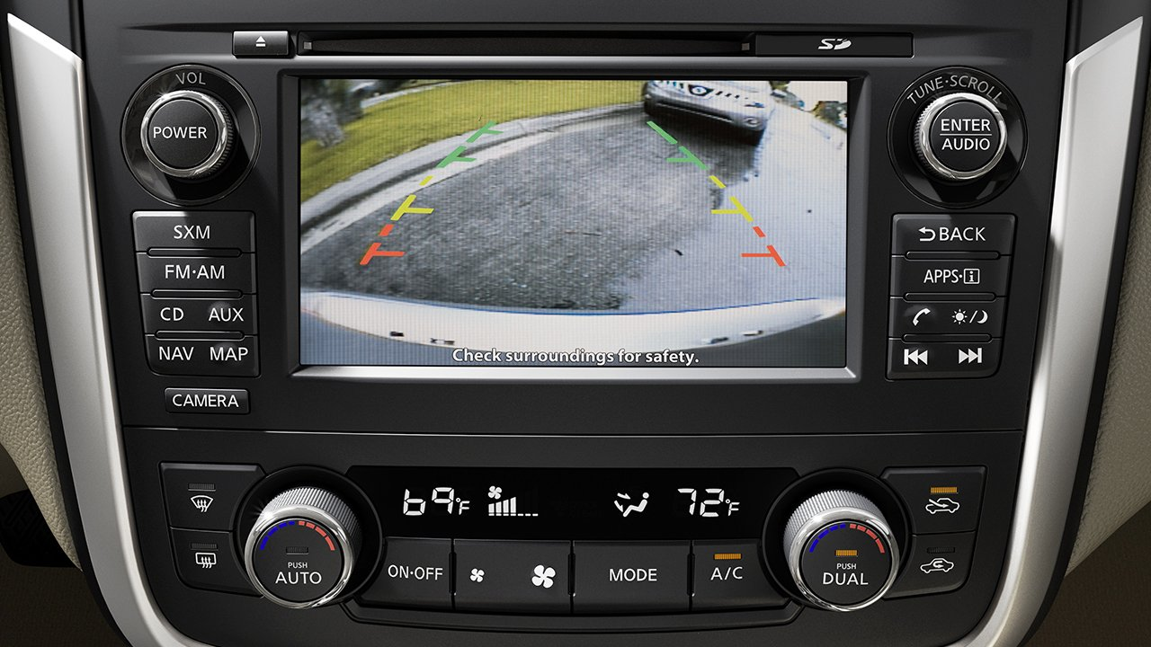 The Nissan Altimas Rearview Monitor Makes Driving And Parking Safer Buick Verano Rear View Camera Asheboro Blog