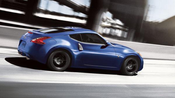 Blue 2017 Nissan 370Z