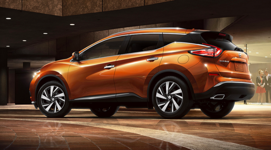 The 2017.5 Nissan Murano, in a blog post comparing it to the Nissan Rogue.